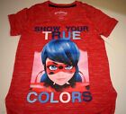 New Miraculous shirt girls size 4/5 6/6X 7/8 10/12 Zag Heroez Miraculous shirt