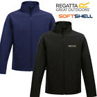 Regatta Jacket Mens Classic Softshell Water Repellent Embroidered Logo New