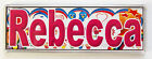 Personalised Door / Room Name Plaque / Tile / Magnet / Frame letters-R-S-T-W-Z
