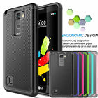 Armor Rugged Rubber Protective Hard Case Cover For LG G Stylo 2 / Stylus 2 &Plus