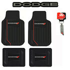 DODGE Elite Car Truck Front Back Floor Mats / Key Chain / Seat Covers / Emblem $67.98 USD on eBay