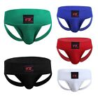 Mens Athletic Supporter Jock Strap Sports Underwear Lace Up Boxers Briefs Shorts