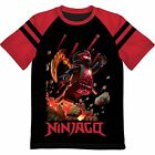 NINJAGO COLE Black Ninja of Earth Tee T-Shirt NWT Boys Size 4/5, 6/7, 8 or 10/12