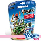 Playmobil Pirates 6162 Green Interactive Cannon with Pirate Captain