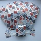 Christmas Pillow Gift Bags/Favour Boxes & Tag - Assorted Styles in sets of 6
