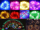 10M Copper Wire 100 LED USB String Fairy Light 12V IR 24 Keys Xmas Outdoor Decor