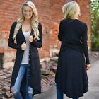 Women Sweater Long Sleeve Knit Cardigan Tops Casual Loose Jacket Coat Outwear