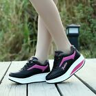 Hot Sale Women Shoes Thicken All-match Shallow Sports Shoes Wedge Heel Sneaker