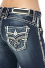 $200 ROCK REVIVAL WOMEN'S JEANS RP9320BE204 GAIA BE204 BOOT 24 25 26 27 28 29