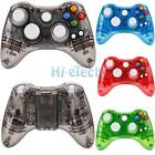 USB Wired/Wireless Glow LED Remote Controller Gamepad For Xbox 360 PC Windows UK for sale  Hong Kong