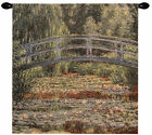 Giverny Bridge Tapestry Wall Art