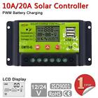 10/20A LCD Solar Panel Battery Regulator Charge Controller 12/24V Auto Switch BA