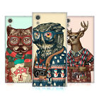 HEAD CASE DESIGNS HIPSTER ANIMALS IN SWEATERS SOFT GEL CASE FOR SONY PHONES 1