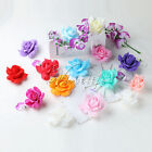 8cm Foam Artificial Flowers Rose Head DIY Wedding Bouquet Party Cake Decorations