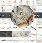 Wholesale Women's Metal Crystal Rhinestone Bobby Hair Accessory Barrette Hairpin