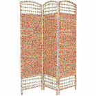 5 1/2 ft. Tall Recycled Magazine Room Divider