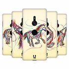 HEAD CASE DESIGNS COLOURFUL ANIMAL SCRIBBLES HARD BACK CASE FOR SONY PHONES 1