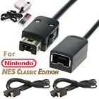 2 PCS 6ft/1.8m Extension Cable for Nintendo NES Mini Classic Edition Controller