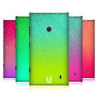 HEAD CASE DESIGNS NEON RAIN OMBRE HARD BACK CASE FOR NOKIA LUMIA 520 / 525
