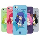 HEAD CASE DESIGNS KAWAII ZODIAC SIGNS SOFT GEL CASE FOR APPLE iPHONE 5 5S SE
