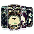 HEAD CASE DESIGNS AZTEC ANIMAL FACES 3 SOFT GEL CASE FOR SAMSUNG GALAXY S3 III