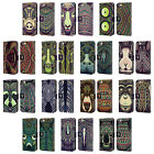 HEAD CASE DESIGNS AZTEC ANIMAL FACES 2 LEATHER BOOK CASE FOR APPLE iPHONE 6 6S