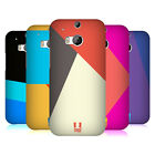 HEAD CASE DESIGNS COLOUR BLOCKING HARD BACK CASE FOR HTC ONE M8