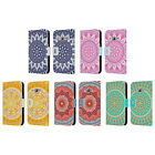 HEAD CASE DESIGNS MANDALA LEATHER BOOK WALLET CASE FOR SAMSUNG GALAXY J1 (2016)