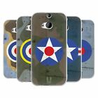 HEAD CASE DESIGNS NATION MARKINGS SOFT GEL CASE FOR HTC ONE M8