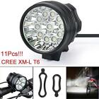 35000LM 12x CREE T6 LED Headlamp Bicycle Lamp Bike Light Cycling Torch US Stock
