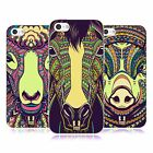 HEAD CASE DESIGNS AZTEC ANIMAL FACES 4 FARM SOFT GEL CASE FOR APPLE iPHONE 5C