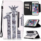 Card Holder Wallet Flip Case For Samsung Galaxy LG Huawei Apple iPhone Phone