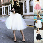 Femme 7 Couche Jupe Tulle Adulte Toile Jupon Tutu Robe De Bal Patineuse, occasion d'occasion  Chine