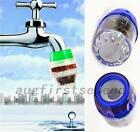 Kitchen Double Purifier Filter Head Water Purified Faucet Tap Clean Cartridge