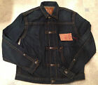 TRUE RELIGION Denim Jacket KYLE Blue Iron Size XXL XXXL Mens NEW