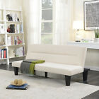 Modern Style Sofa Bed Futon Couch Sleeper Lounge Sleep Dorm Office Microfiber