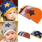 Cute Kids Baby Toddler Boy/Girl Beanie Stars Pattern Fashion Warm Hats Cap