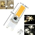 1/5/10pcs COB 2508 LEDs G9 7W 480lm Led Dimmable bulb 110/220V White/Warm
