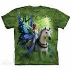 REALM OF ENCHANTMENT T-SHIRT Youth and Adult Sizes  S - 5X  UNICORN   FAIRY