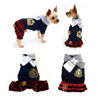 Pet Dog Clothes Puppy Couple Apparel Spring Autumn Costume With Neckerchief New