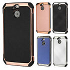 For Sprint HTC BOLT IMPACT HYBRID Plating Hard Case Skin Phone Cover Accessory