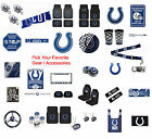 New NFL Indianapolis Colts Pick Your Gear / Car Accessories Official Licensed on eBay