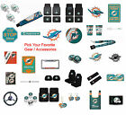 New NFL Miami Dolphins Pick Your Gear / Car Truck Accessories Official Licensed