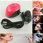 SP19 Beauty Makeup Mini Special Air Compressor for Nail Tattoo Spray White/ Red