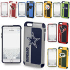 Official NFL Cover For iPhone 6 Plus Impact Shockproof Armor Hybrid Fan Case