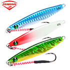 5pcs fishing lure 7/10/14/17g/21/28g Lead Fish hook with feather Crankbaits Bass