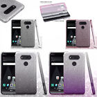 For LG V20 SHINE HYBRID HARD Protector Case Rubber Phone Cover Accessory