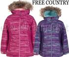 NEW STYLE GIRLS FREE COUNTRY RADIANCE BOARDER JACKET WINTER COAT RADIANCE FABRIC