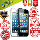 New in Box APPLE iPhone 5 4s Black White 4G GSM Factory Unlocked Smartphone GG33