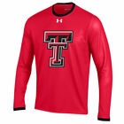 Texas Tech Red Raiders Under Armour 2015 Sideline Huddle Long Sleeve T-Shirt